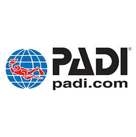 logo padi rekreacyjne kursy nurkowania